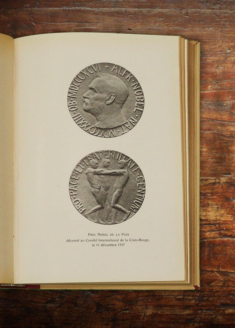 Image of the Nobel Peace Prize awarded to the ICRC on 11 December 1917.